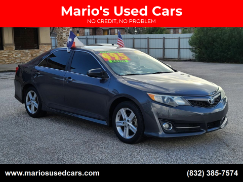 2012 Toyota Camry for sale at Mario's Used Cars - Pasadena Location in Pasadena TX