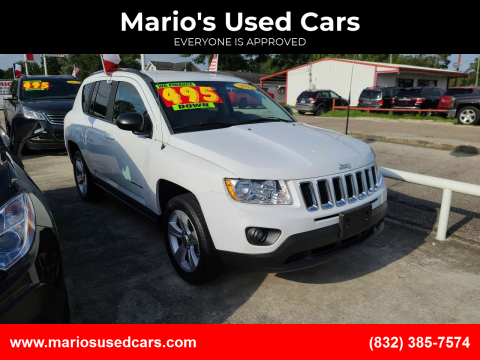 2012 Jeep Compass for sale at Mario's Used Cars - South Houston Location in South Houston TX