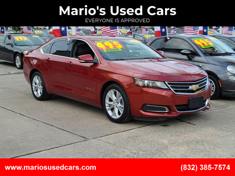 2014 Chevrolet Impala for sale at Mario's Used Cars in Houston TX