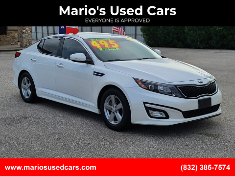 2014 Kia Optima for sale at Mario's Used Cars - Pasadena Location in Pasadena TX