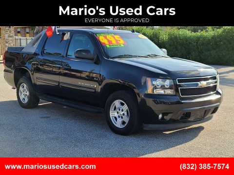 2009 Chevrolet Avalanche for sale at Mario's Used Cars - Pasadena Location in Pasadena TX