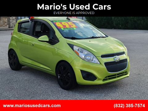2013 Chevrolet Spark for sale at Mario's Used Cars - Pasadena Location in Pasadena TX