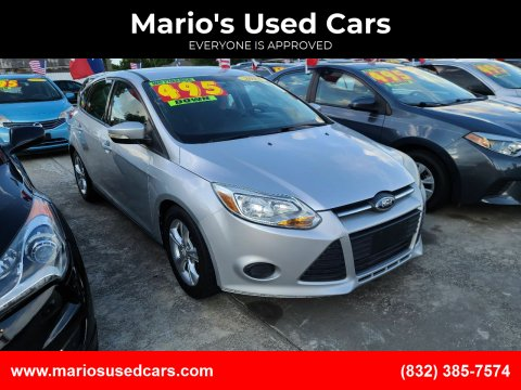 2014 Ford Focus for sale at Mario's Used Cars - South Houston Location in South Houston TX