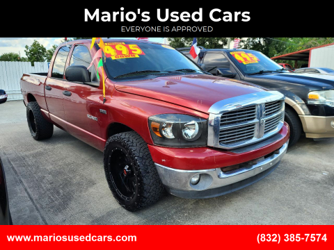 2008 Dodge Ram Pickup 1500 for sale at Mario's Used Cars - South Houston Location in South Houston TX