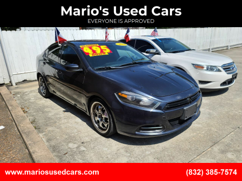 2014 Dodge Dart for sale at Mario's Used Cars - South Houston Location in South Houston TX