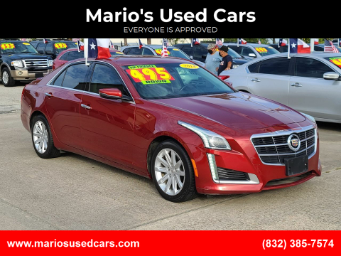 2014 Cadillac CTS for sale at Mario's Used Cars in Houston TX