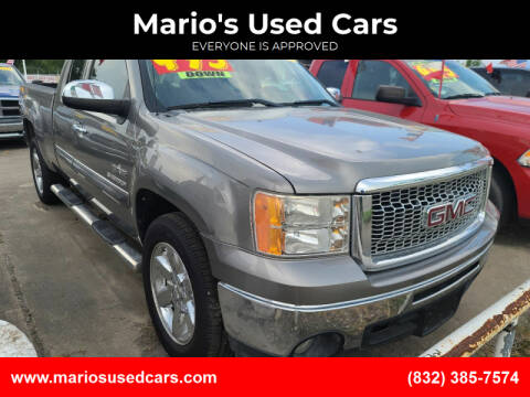 2012 GMC Sierra 1500 for sale at Mario's Used Cars in Houston TX