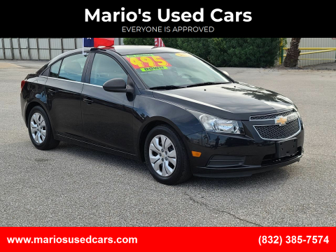 2012 Chevrolet Cruze for sale at Mario's Used Cars - Pasadena Location in Pasadena TX