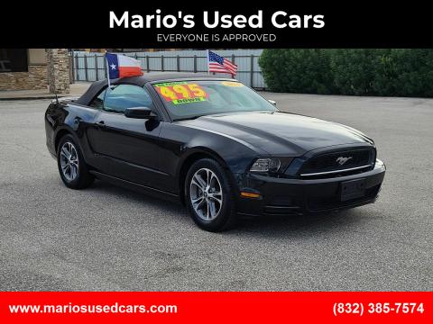 2014 Ford Mustang for sale at Mario's Used Cars - Pasadena Location in Pasadena TX