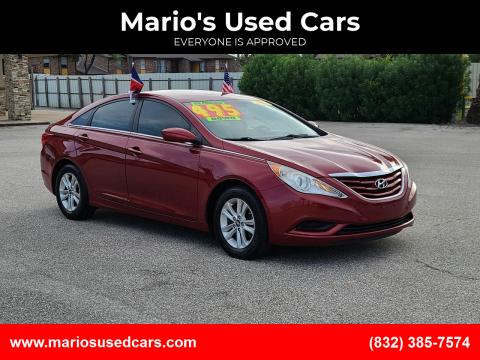 2011 Hyundai Sonata for sale at Mario's Used Cars - Pasadena Location in Pasadena TX