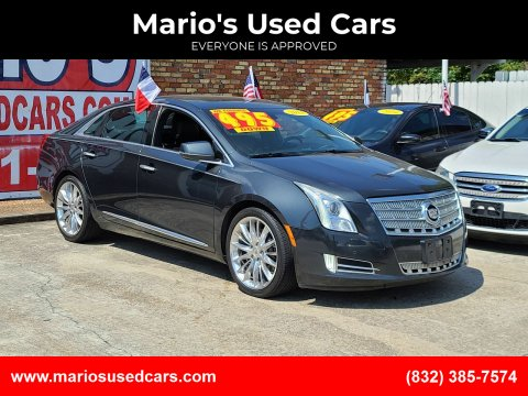 2013 Cadillac XTS for sale at Mario's Used Cars - South Houston Location in South Houston TX