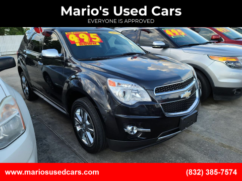 2011 Chevrolet Equinox for sale at Mario's Used Cars - South Houston Location in South Houston TX