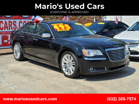 2011 Chrysler 300 for sale at Mario's Used Cars - South Houston Location in South Houston TX