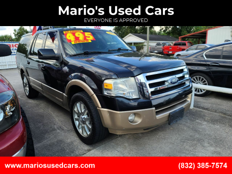 2011 Ford Expedition EL for sale at Mario's Used Cars - South Houston Location in South Houston TX