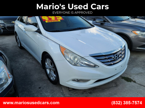 2013 Hyundai Sonata for sale at Mario's Used Cars - South Houston Location in South Houston TX