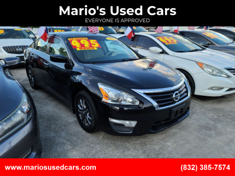 2014 Nissan Altima for sale at Mario's Used Cars - South Houston Location in South Houston TX