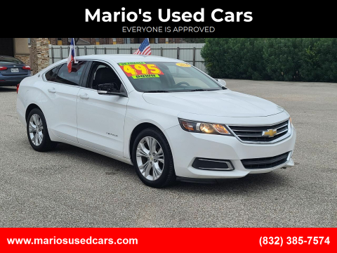 2014 Chevrolet Impala for sale at Mario's Used Cars - Pasadena Location in Pasadena TX