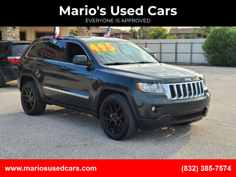 2011 Jeep Grand Cherokee for sale at Mario's Used Cars - Pasadena Location in Pasadena TX