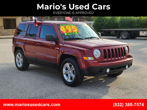 2016 Jeep Patriot for sale at Mario's Used Cars - Pasadena Location in Pasadena TX
