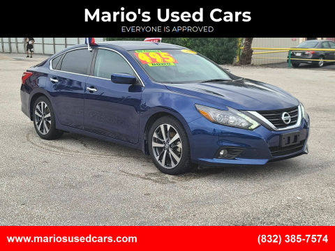 2016 Nissan Altima for sale at Mario's Used Cars - Pasadena Location in Pasadena TX
