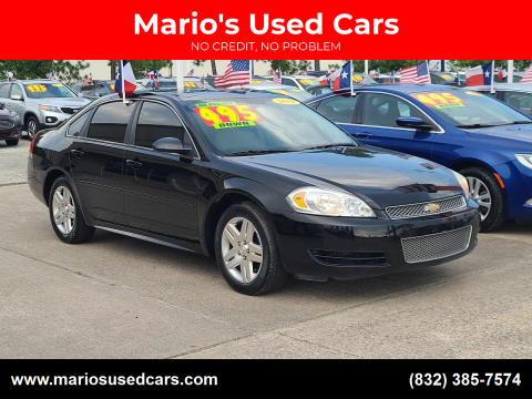 2014 Chevrolet Impala Limited for sale at Mario's Used Cars in Houston TX