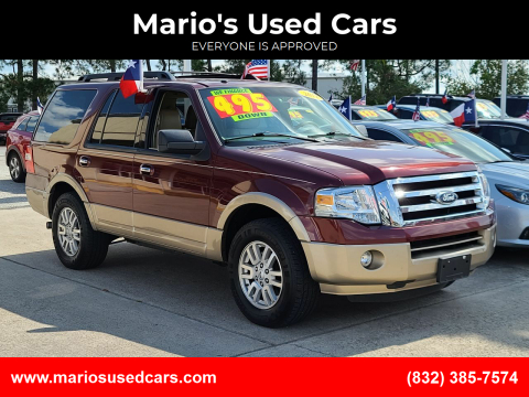 2012 Ford Expedition for sale at Mario's Used Cars in Houston TX