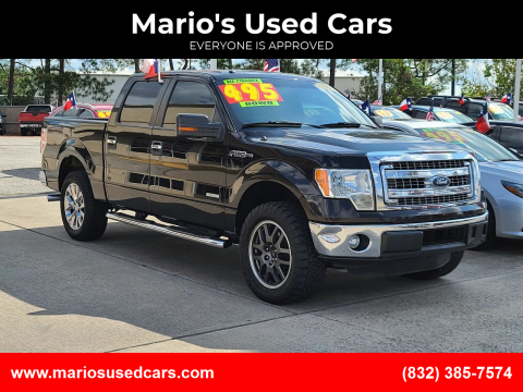 2013 Ford F-150 for sale at Mario's Used Cars in Houston TX
