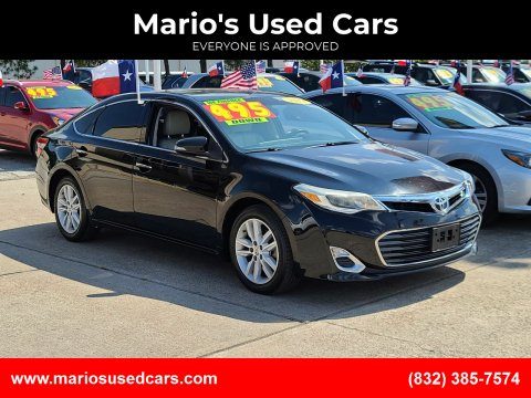 2013 Toyota Avalon for sale at Mario's Used Cars in Houston TX