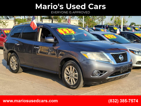 2013 Nissan Pathfinder for sale at Mario's Used Cars in Houston TX
