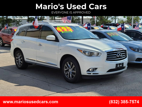 2014 Infiniti QX60 for sale at Mario's Used Cars in Houston TX