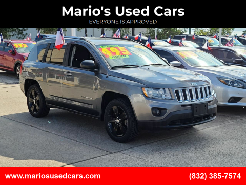 2013 Jeep Compass for sale at Mario's Used Cars in Houston TX
