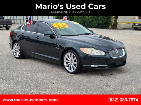 2010 Jaguar XF for sale at Mario's Used Cars - Pasadena Location in Pasadena TX