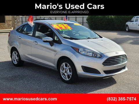 2014 Ford Fiesta for sale at Mario's Used Cars - Pasadena Location in Pasadena TX