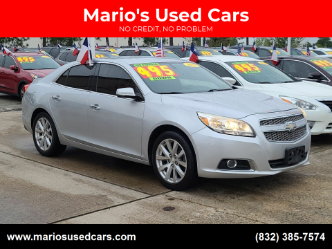 2013 Chevrolet Malibu for sale at Mario's Used Cars in Houston TX