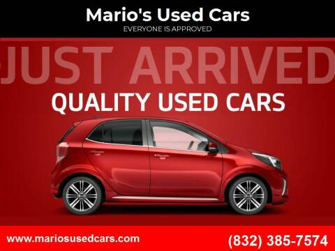 2016 Dodge Dart for sale at Mario's Used Cars in Houston TX