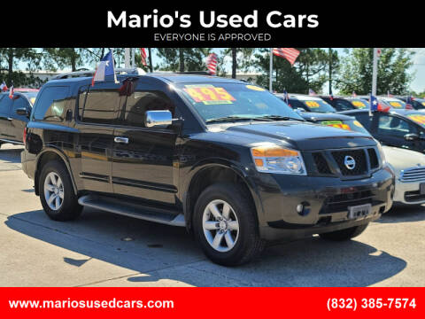 2012 Nissan Armada for sale at Mario's Used Cars in Houston TX