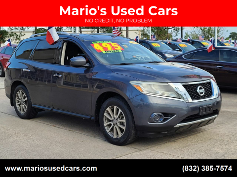 2014 Nissan Pathfinder for sale at Mario's Used Cars in Houston TX