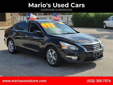 2014 Nissan Altima for sale at Mario's Used Cars - Pasadena Location in Pasadena TX