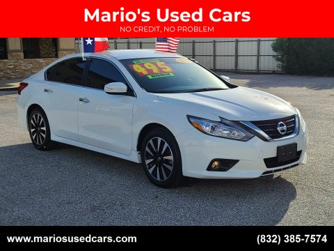 2018 Nissan Altima for sale at Mario's Used Cars - Pasadena Location in Pasadena TX