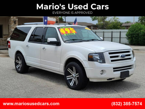2010 Ford Expedition EL for sale at Mario's Used Cars - Pasadena Location in Pasadena TX