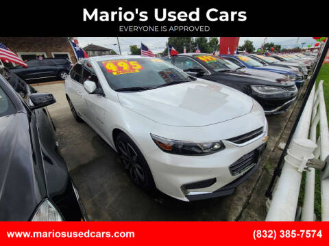 2016 Chevrolet Malibu for sale at Mario's Used Cars - South Houston Location in South Houston TX