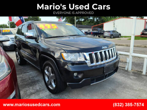 2012 Jeep Grand Cherokee for sale at Mario's Used Cars - South Houston Location in South Houston TX