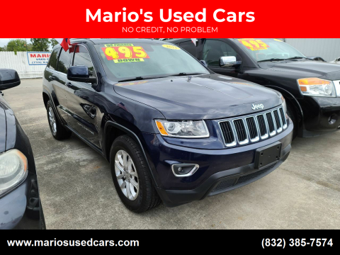 2014 Jeep Grand Cherokee for sale at Mario's Used Cars - South Houston Location in South Houston TX