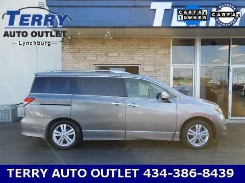 2013 Nissan Quest for sale at Terry Auto Outlet in Lynchburg VA