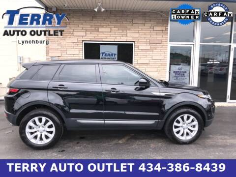 2018 Land Rover Range Rover Evoque for sale at Terry Auto Outlet in Lynchburg VA