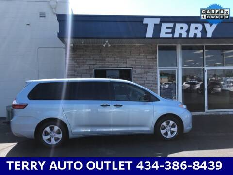 2016 Toyota Sienna for sale at Terry Auto Outlet in Lynchburg VA