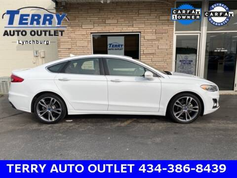 2019 Ford Fusion for sale at Terry Auto Outlet in Lynchburg VA