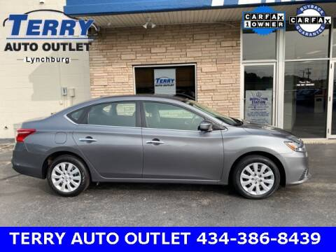 2017 Nissan Sentra for sale at Terry Auto Outlet in Lynchburg VA