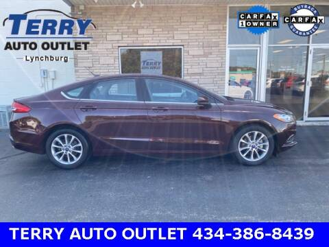 2017 Ford Fusion for sale at Terry Auto Outlet in Lynchburg VA