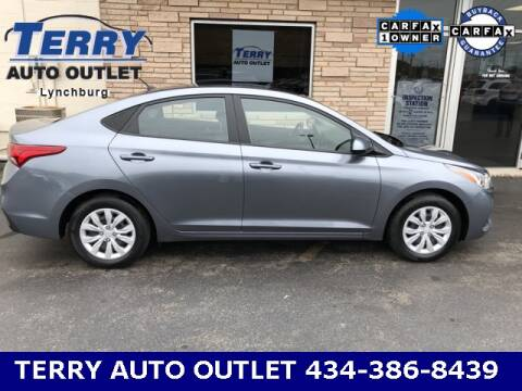2019 Hyundai Accent for sale at Terry Auto Outlet in Lynchburg VA